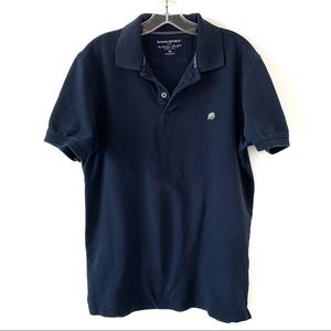BANANA REPUBLIC MEN'S NAVY BLUE POLO